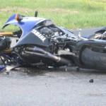 Пак пострада мотоциклетист при казармите