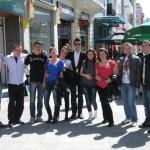 Гимназията по туризъм се изяви в Пловдив