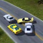 Автомобили се състезават… на улицата