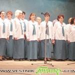 Хорът на ветераните-туристи се изяви в Казанлък