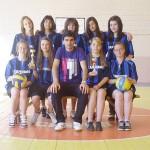 """Момичетата от ПТГ """"Никола Вапцаров"""" трети на зоналния турнир в Перник"""
