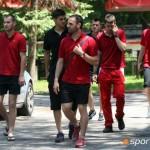 ЦСКА на лагер в Боровец, тренира в Самоков