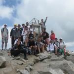 Ученици от Гимназията по туризъм се изкачиха на Мусала