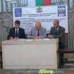Подписаха договора за реставрирането на крепостта край Белчин