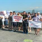 Митинг на околовръстното подкрепи Закона за горите /снимки/