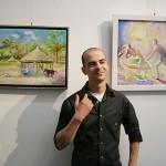 Самоковски художник участва в пленер в Хърватия