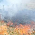 Незаконна ромска къща се запали