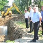 Кметът провери на място изпълнението на важни проекти