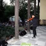 Цигуларят Васко Василев дари самоковци с истински празник