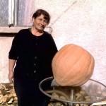 43 кг тиква в Широки дол, мало и голямо се стича да я види