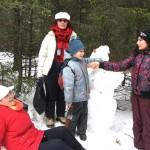 Деца и пенсионери – заедно на снежна Мальовица