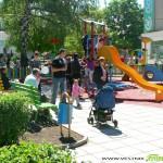 Модерна детска площадка откриха в центъра /снимки/