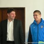 Кметът награди европейския шампион Евгени Генчев