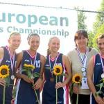 Вероника Джикова и Марина Гелова – трети на европейското