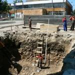 Нов фонтан се строи в центъра