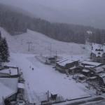 Първи сняг на Боровец