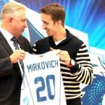 Представиха официално Бранко Миркович в Беларус