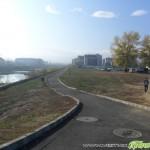 Велосипедни алеи и тротоари се оформят