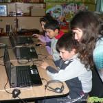Деца с увреждания боравиха с интересни компютърни програми