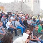 """Ученици от ПТГ """"Н. Вапцаров"""" посетиха масово Цари мали град"""
