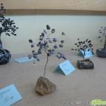 Ани Белемезова нареди декоративни дръвчета и бижута в библиотеката