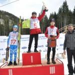 Куп медали за скиорите от олимпийския фестивал