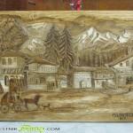 Обитател на Дома за стари хора сътвори впечатляваща дърворезба