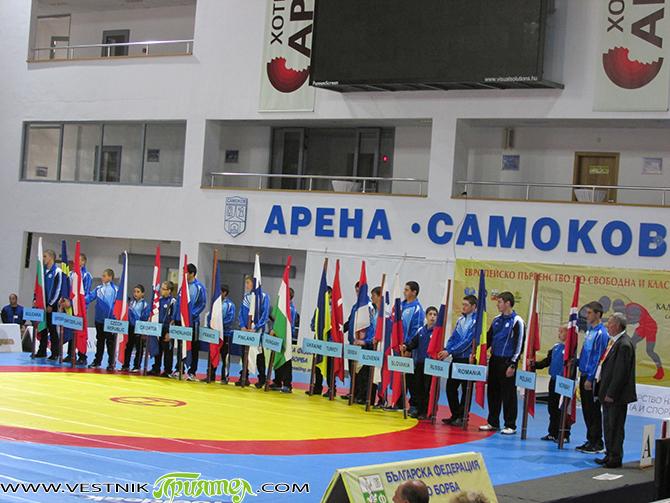 """Над 500 борци от 35 държави участват в """"Евро 2014″ за кадети и кадетки, което се провежда в """"Арена Самоков"""". Първенството е и квалификация за олимпийските младежки игри в Нянджинг […]"""