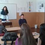 """Британски учител обмени опит в СОУ """"Отец Паисий"""""""
