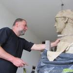 Паметник на Петър Попангелов се извайва