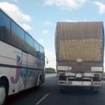 Докога ще се движат ТИР-ове по тесния и с много завои път за София?