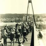 Уникални кадри от Червения мост отпреди 40 години