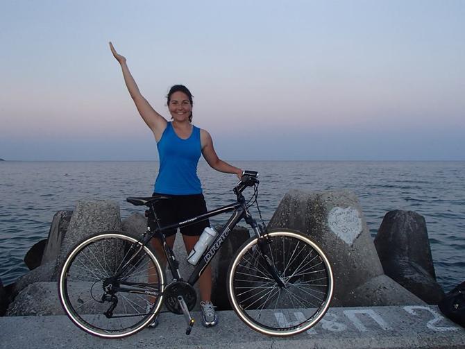 Нашата съгражданка Станислава Тодорова се включи в любителската обиколка на България с велосипед, състояла се през юли. Станислава, която в повечето етапи бе и единствената жена-участник в обиколката, измина около […]
