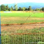 Нов погром на стадиона – изкопаха тревата и срязаха оградата