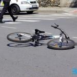 Велосипедист с комоцио след сблъсък с автомобил