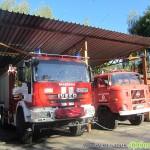 Специална постройка ще приюти петте нови пожарни автомобила