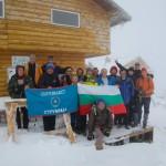 """Планинари от 4 страни се срещнаха на снежната хижа """"Мусала"""", най-смелите качиха върха"""