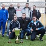 """Задружна """"Бригада"""" отвя всички и спечели суперлигата по мини футбол"""