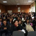 """Преподаватели от УНСС посетиха ПТГ """"Никола Вапцаров"""""""