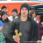 """Грабналият кръста на Йордановден Емилиян Крамарски: """"Скачам във водата за здраве"""""""