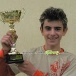 От скрина: Влади Зографски поставя рекорда на шанцата на Ридо със скок от 47 м