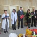 Деца, депутат и кмет поздравиха медиците за празника на здравето