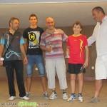 Семейство грабна 4 от 6 медала на турнира по тенис на маса