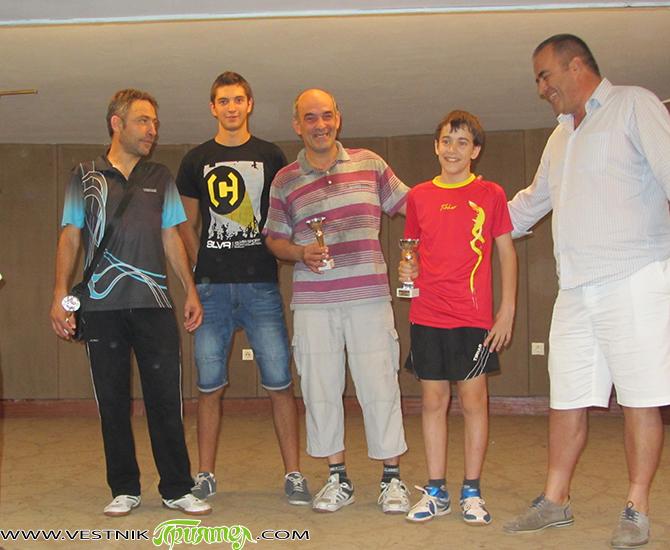 На изключително рядко явление станаха свидетели любителите на тениса на маса на турнира на 16 август в Младежкия дом. Четири от общо 6-те медала станаха притежание на едно семейство! На […]