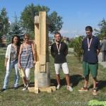 Оригинални дървопластики украсиха Туристическата градина