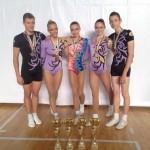 Състезателите по аеробика с 13 медала от турнира в Пловдив