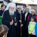 Хиляди посрещнаха патриарха и Чудотворната икона