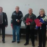 Трима строители-ветерани получиха златния почетен знак на Самоков