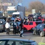 Затвориха софийското шосе заради поскъпването на винетките