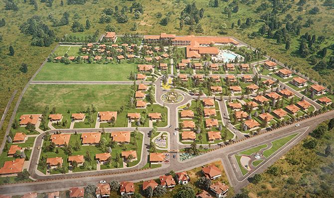 """Комплекс от затворен тип със собствен минерален извор ще се изгражда между Белчин и Белчин бани, в подножието на възстановената крепост Цари мали град. Еко селището """"Белчински извор"""" ще бъде […]"""
